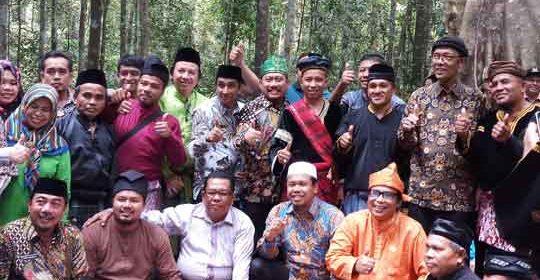 Imbo Putui Saksi Penyerahan Usulan Hutan Adat