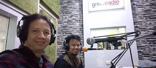Green Radio : Talkshow tentang Masyarakat Hukum Adat di Kampar