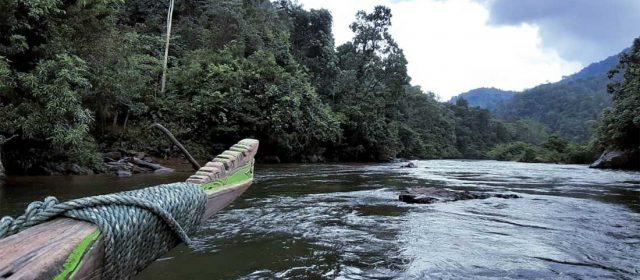 Pompang Pighau dan ukiran Eksotis di Haluan Perahu